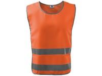 Vesta výstražná CLASSIC SAFETY VEST oranžová