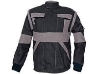 Blúza montérková MAX 2v1 šedo-čierna