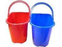 Vedro PVC 15L plastová rúčka modré
