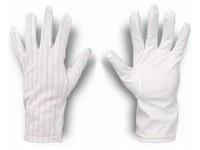 Rukavice antistatické bezprašné so saténovou dlaňou