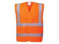Pracovná vesta výstražná C470 oranžová