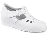 Obuv sandále 980051 dámske biele