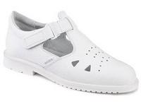 Obuv sandále 980061 pánske biele