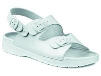Pracovná obuv sandále rehabilitačné SPARTA OB biele