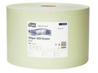 Utierka papierová priemyselná TORK W1 zelená 2vr.