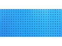 Stena perforovaná na háčiky 1500x460mm RAL5015 modrá