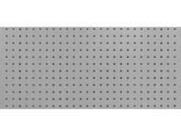Stena perforovaná na háčiky 1200x460mm RAL7035 sivá