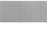 Stena perforovaná na háčiky 1500x460mm RAL7035 sivá
