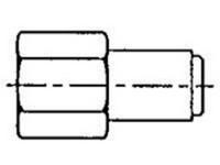 Koncovka s vnútorným závitom G1/4 LAPF F1/4 SKF