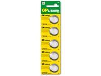 Batéria gombíková GP CR2025, 3V, 170mAh, lithiová ( cena za 1 ks)