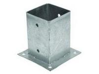 Pätka kotviaca na stĺp 101x101x150mm hrúbka plechu 2mm
