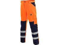 Nohavice výstražné do pása NORTWICH oranžové pánske