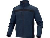 Bunda pracovná LULEA2 veľ. XL  modro-čierna, softshel/polyester