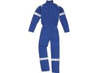 Kombinéza pracovná Maiao námornícka modrá ohňovzdorná bavlna,