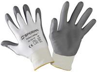 Pracovné rukavice povrstvené Perfect Cutting Grey