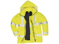 Pracovná bunda výstražná S468 žltá