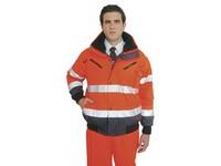 Pracovná bunda výstražná C465 oranžová