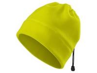 Čiapka fleece ADLER HV PRACTIC unisex refl. žltá