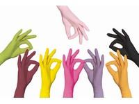 Rukavice jednorazové nitrilové rôzne farby