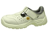 Obuv sandále ESD O1 biele