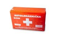 Autolekárnička plastová s kartou prvej pomoci