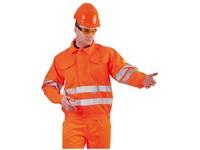 Bunda KOROS reflexná oranžová DOPREDAJ