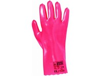 Pracovné rukavice chemické PVC 30