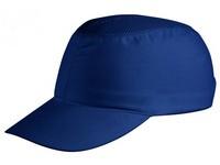 Čiapka bezpečnostná COLTAN SHORT PEAK modrá
