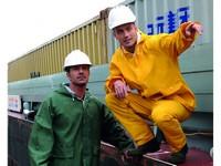 Pracovný odev do dažďa OPSIAL MARIN žltý