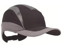 Čiapka bezpečnostná Protector HC24 ELITE krátky šilt 55mm čierno-sivá