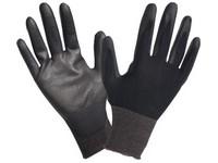 Pracovné rukavice povrstvené F FineWork 100 black