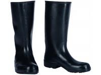 Pracovná obuv čižmy gumené pánske čierne