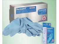 Rukavice jednorázové nitrilové Dermatril L 741 100ks/bal. č. 10