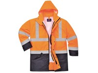 Bunda výstražná S768 5v1 oranžová