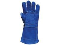 Rukavice zváračské modré